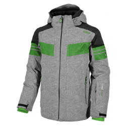 BUNDA CMP BOY JACKET STRETCH SNAPS HOOD