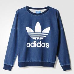 Adidas TRACK DENIM / MEDIUM BLUE DENIM AJ7195