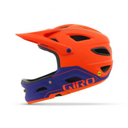 GIRO Switchblade MIPS-mat vermilion/purple