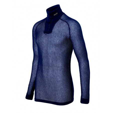 Brynje SUPER THERMO sieťovina, zip polo shirt