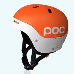 POC prilba Frontal white/orange