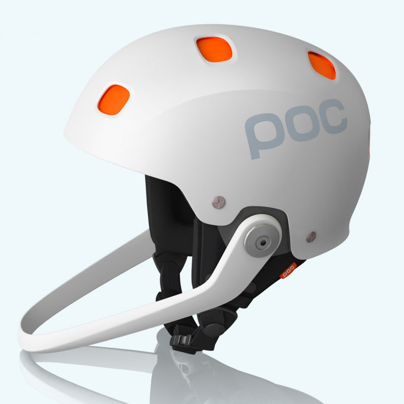 POC prilba  Sinuse SL white/orange