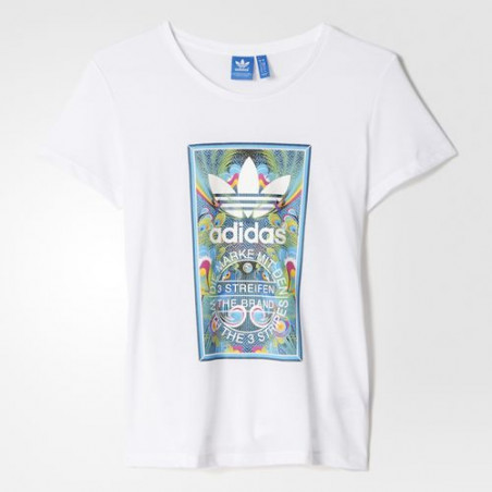 Adidas BIRD TONGUE LABEL TEE AJ8945