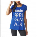 Adidas ORIGINALS Tee EQTBLUE AJ8972