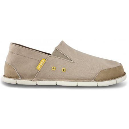 CROCS CABO LOAFER tumbleweed / stucco 14989