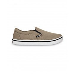 CROCS HOVER SLIP ON khaki / white