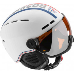 VISOR - SINGLE LENSE WHITE (1 SKLO S2)