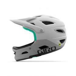 GIRO Switchblade MIPS-mat white/grey-