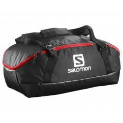 SALOMON PROLOG 40 BAG BLACK / BRIGHT RED - 379928