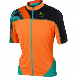 KARPOS TECK dres fluo oranžový
