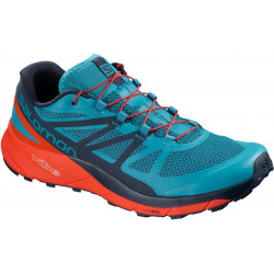 Salomon SENSE RIDE Fjord Blue/CHERRY TO/Nav L40484800