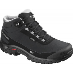 SALOMON LShelter CS WP Black/Black/Frost Gray 40472900