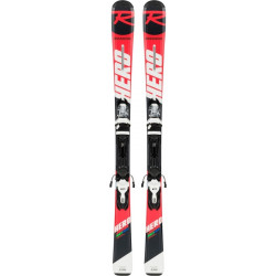 ROSSIGNOL Hero JR 130-150 Xpress JR (RAHJY01)+Xpress Jr 7 B83 bk/wht(FCFD031)
