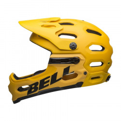 BELL Super 3R MIPS Mat Yellow/Coal