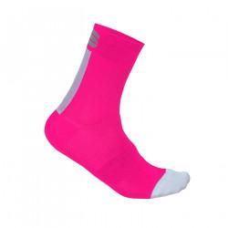 SPORTFUL BODYFIT PRO 12 1102066-587 ponožky ružove/biele
