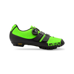 GIRO CODE Techlace lime/black