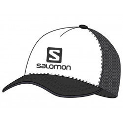 SILTOVKA SALOMON SUMMER LOGO CAP M White/Black LC1316400