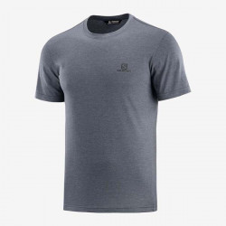 TRICKO SALOMON EXPLORE BLEND SS TEE M Dark Grey 1329000
