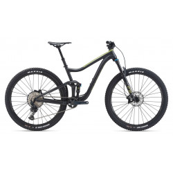 BIKE GIANT TRANCE 29 2 matte gunmetal black/gloss olive