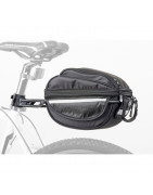 tašky na bicykel do rámu na nosič, pod sedlo